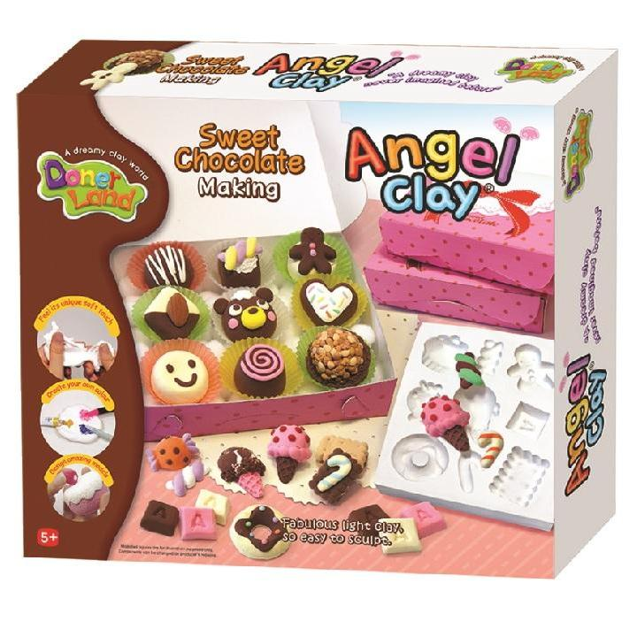 Donerland: Angel Clay Sweet Chocolate Making Kit