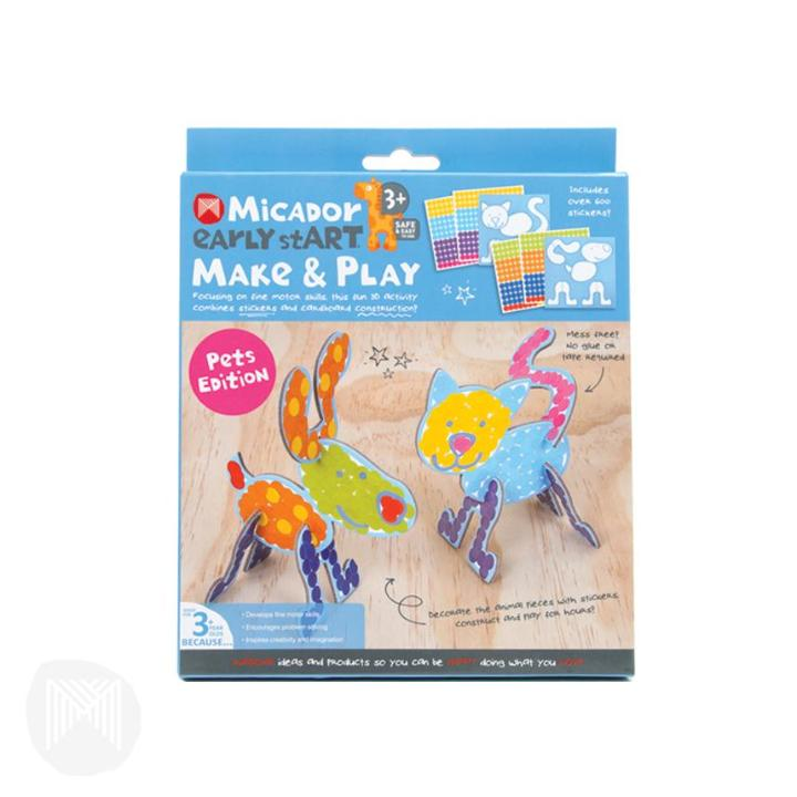 Micador: Make & Play - Pet Edition  early stART
