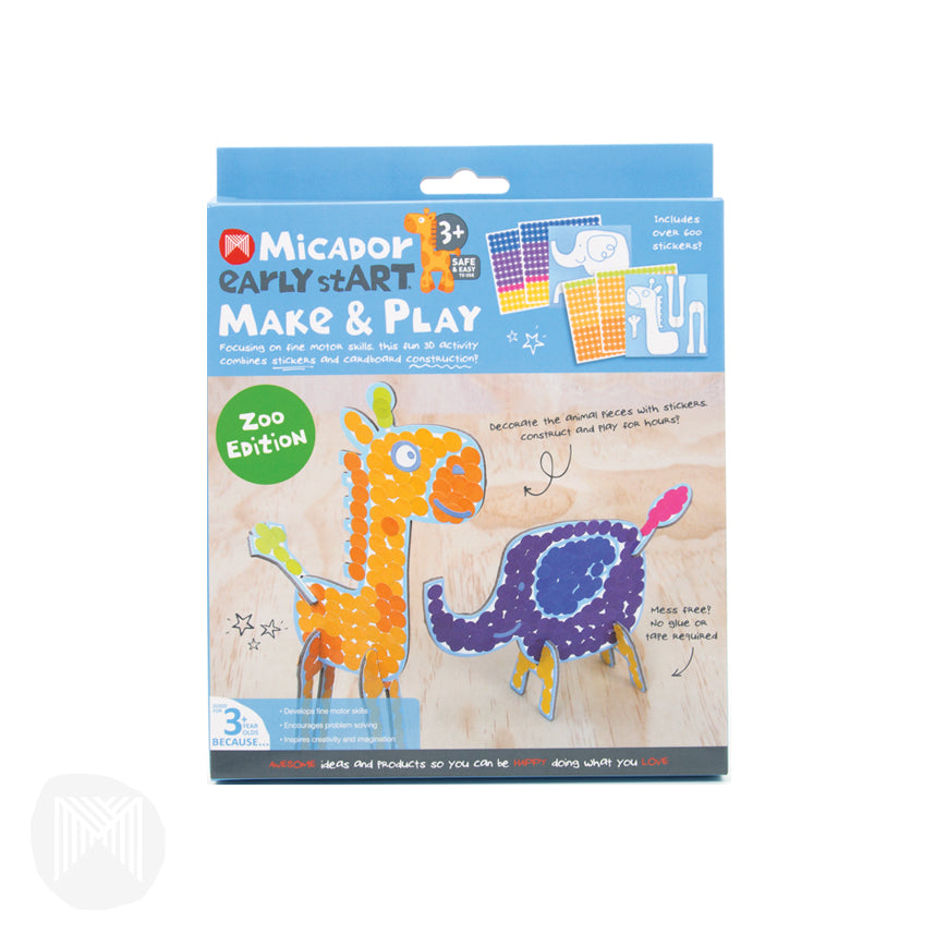 Micador: Make & Play - Zoo Edition  early stART
