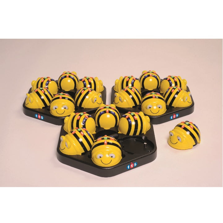 tts: Rechargeable Bee Bot 6pk&Dock Stn