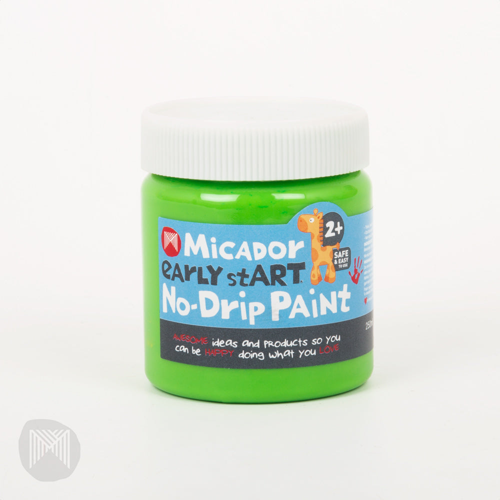 Micador: No-Drip Paint - Mint, 250ml early StART