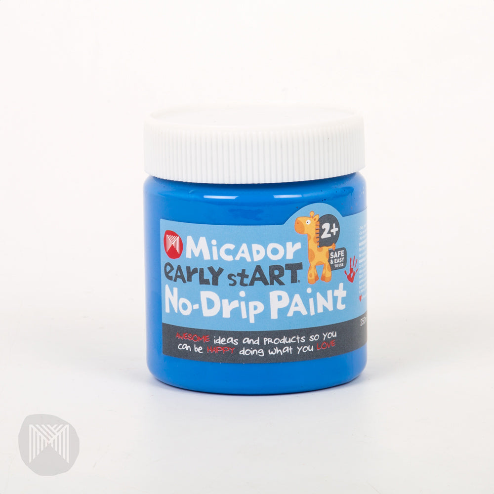 Micador: No-Drip Paint - Blue Heaven, 250ml early stART