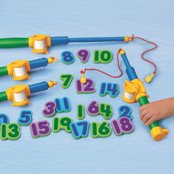 tts: Magnetic Numbers Fishing Set