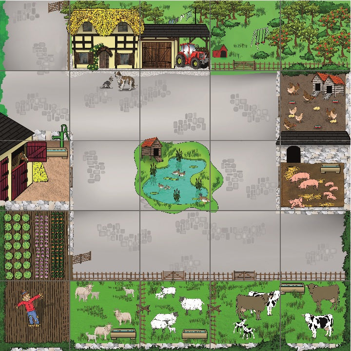 tts: Farm Yard Mat For Beebot