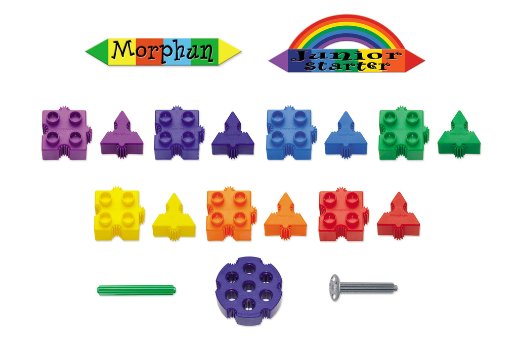 Morphun: Junior Starter Rainbow 300 set
