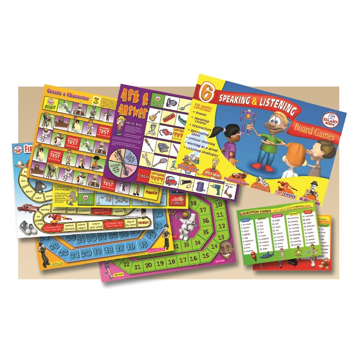 tts: Speaking &Listening Board Games
