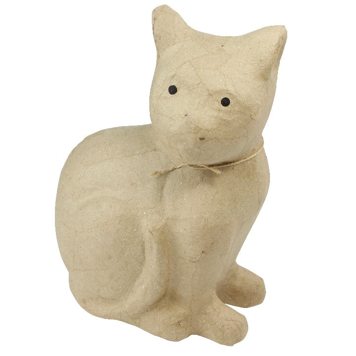 Decopatch: Sitting cat 25cm