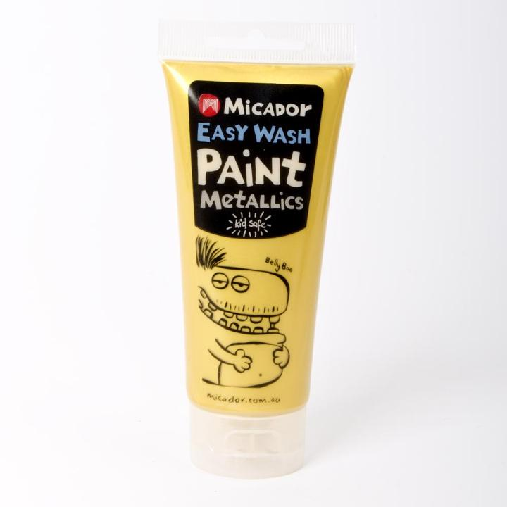 Micador: Easy Wash Paint - Metallic Gold, 120ml Micador