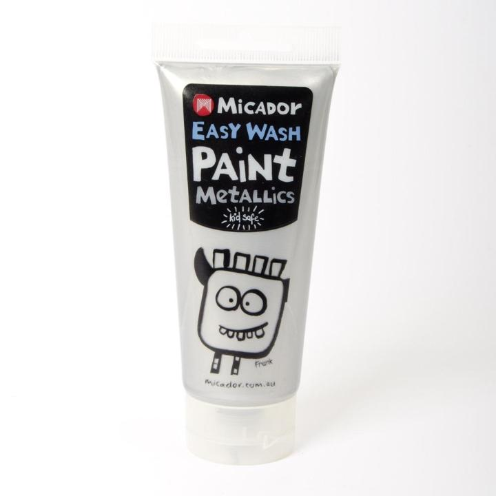 Micador: Easy Wash Paint - Metallic Silver, 120ml Micador