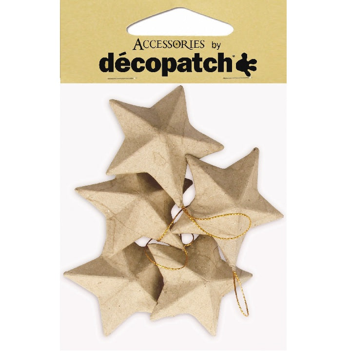 Decopatch: Pack of 5 Stars