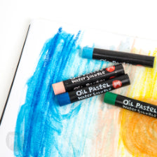 Micador: Large Oil Pastels, Colourfun, Pack 12 Micador