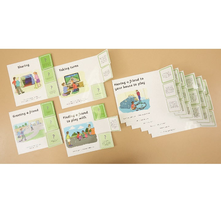 tts: Social Situation Cards Building Friendships