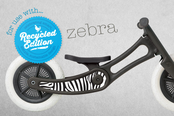 Wishbone: Stickers - Zebra