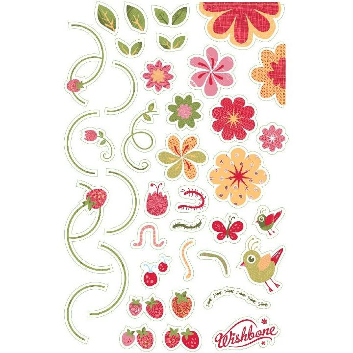 Wishbone: Stickers - Flowers