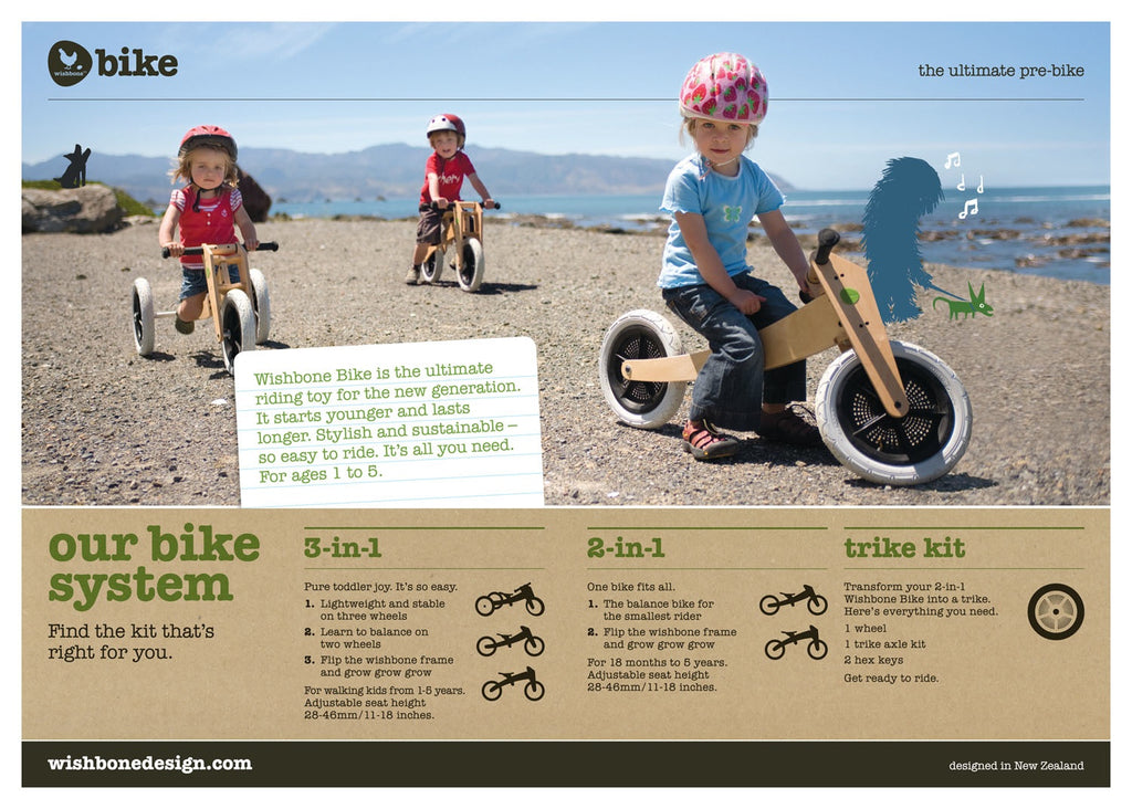 Wishbone: 3in1 Bike Original