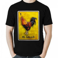 Mexican Loteria Theme Shirt: El GALLO