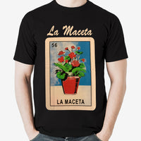 Mexican Loteria Theme Shirt: LA MACETA