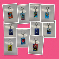 Mexican Loteria Key Chain - VARIOUS DESIGNS