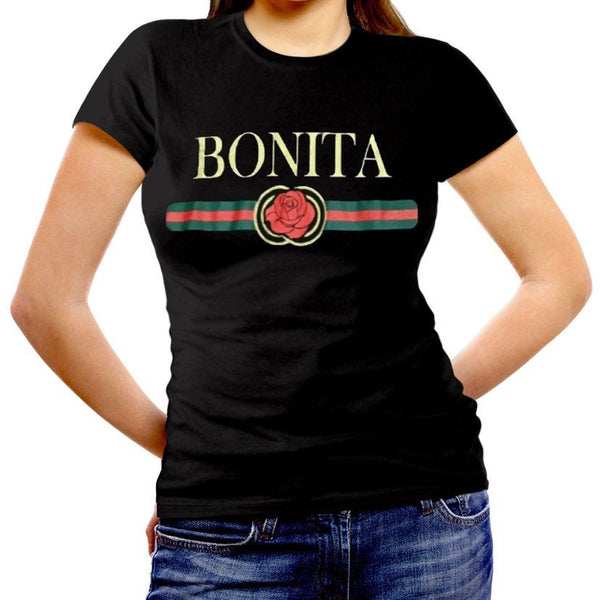 Mexican Womens Fitted Cut Shirt:BONITA