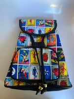 Mexican Loteria backpack