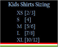 Mexican Theme Kids Loteria Shirt: El Musico (Red)