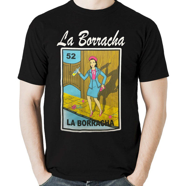 Mexican Loteria Theme Shirt: LA BORRACHA