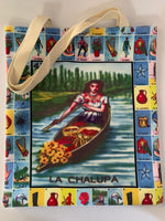 "Cinco de Mayo Mothers Day Loteria Bag La Chalupa (15.5"" Long x 13"" Wide)"