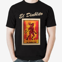 Mexican Loteria Theme Shirt: El DIABLITO - Version 2