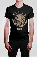 Mexican 1810 Gold Eagle Adult Shirt