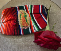 Virgin Mary Zarape High Quality Embroidered Mexican Handmade Facemask