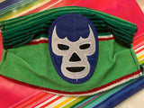 Blue Demon Wrestler Handmade Facemask