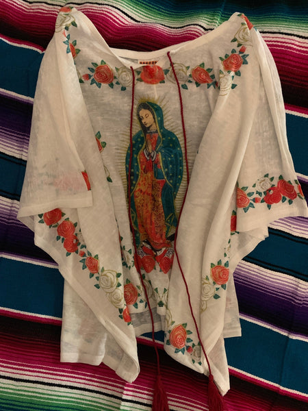 Mothers Day One Size Fits All Virgen de Guadalupe Our Lady Shirt Gaban