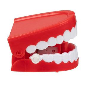 Juvale 12-Pack Wind Up Chomping & Chattering Teeth Toys for Kids Birthday Party Favors, Novelty and Gag Gifts, 2.5 x 1.5 Inches