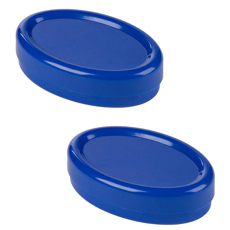 Juvale Magnetic Pin Cushion, Sewing Tools (Blue, 2 Pack)