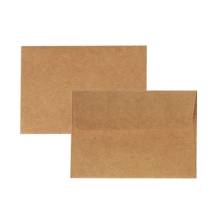 Juvale A1 Kraft Envelopes 5 x 3 Inches 100 Pack
