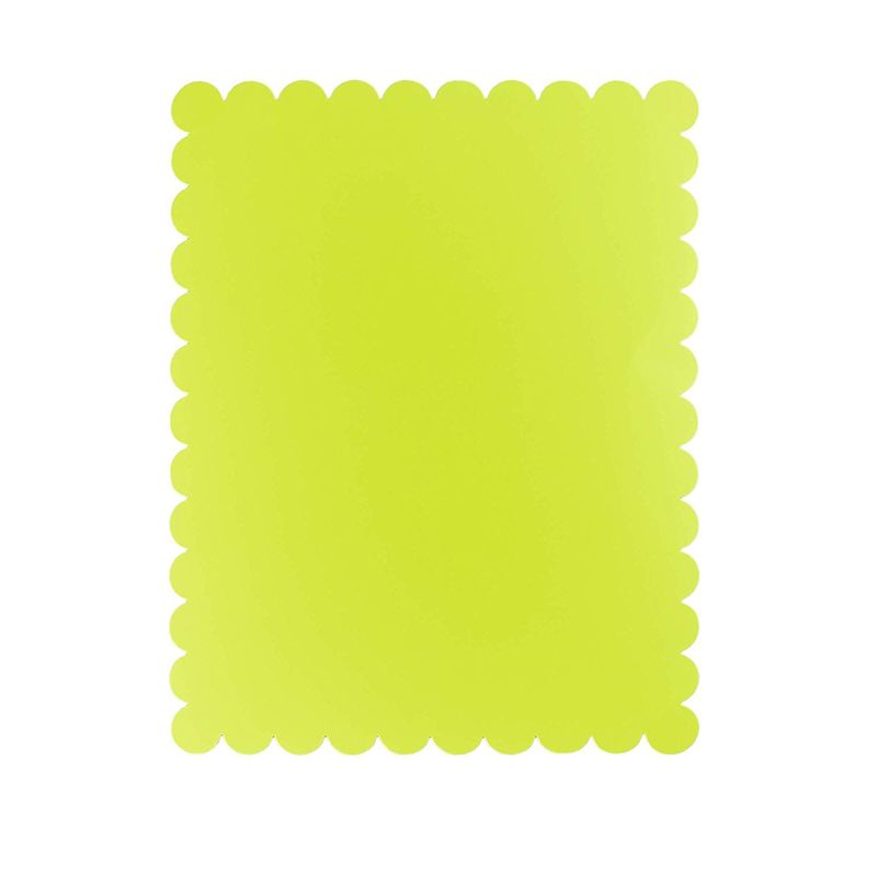 18 Pieces Neon Poster Board Cutout in 6 Shapes for School Project & Sale, 11 x 14