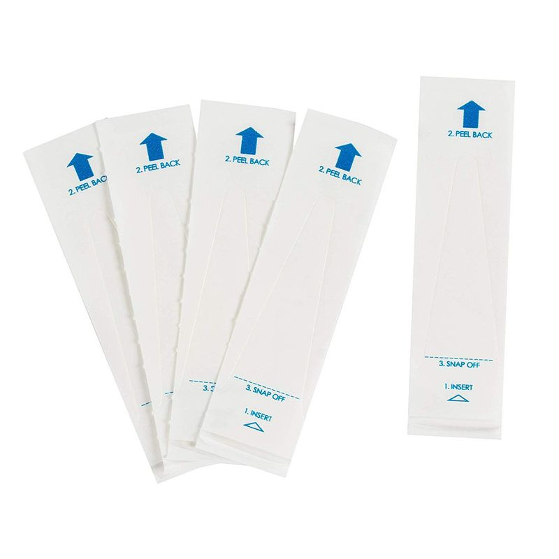Pack of 500 Digital Thermometer Probe Covers - Disposable, Sterile and Safe, 3.75 x 1.02 Inches