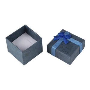 Gift Box Set - 48-Piece Cube Jewelry Box, for Rings, Pendants, Watches, Necklaces - Ideal for Anniversaries, Weddings, Birthdays - 6 Assorted Colors, 1.6 x 1.6 x 1.2 Inches