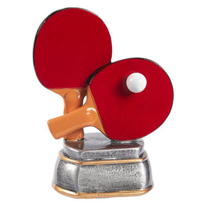 Juvale Ping Pong Trophy, Table Tennis Award for Sports (5.5 x 4.25 x 2.75 Inches)