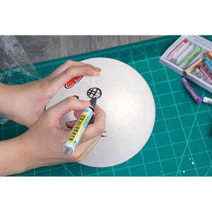 Juvale Foam Balls for Crafts (7.5 in, 2 Pack)