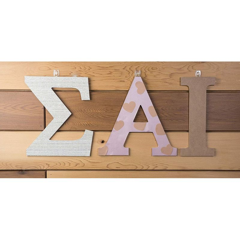 Wooden Letter A for Crafts and Wall Decor (11.6 in)
