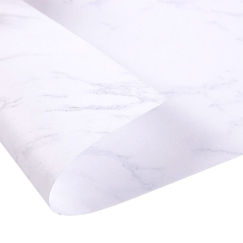 48x Marble Letterhead Stationery Double Sided Paper Printer Friendly 8.5x11""