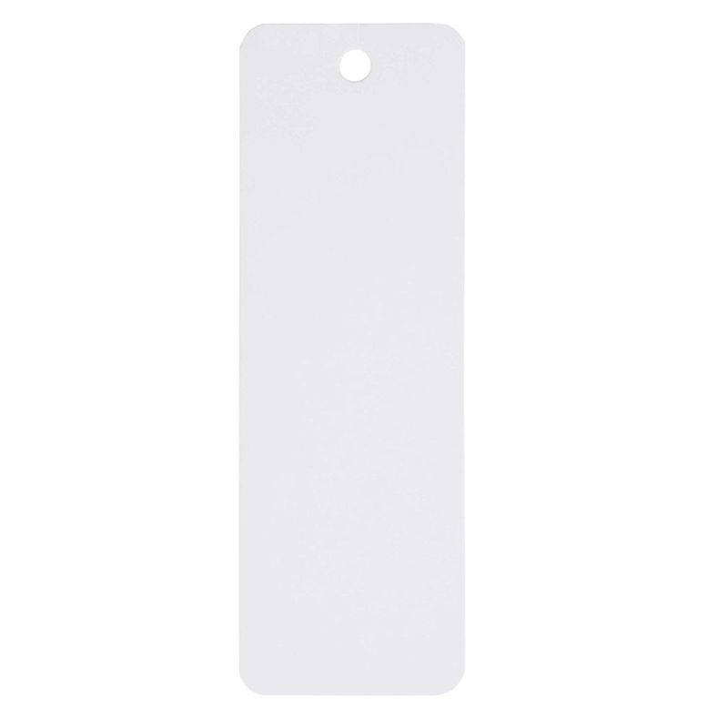 Blank Bookmarks with Hole for Ribbon or Tassel (6 x 2 In, 300 Pack)