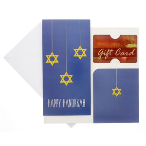 Juvale Happy Hanukkah Greeting Cards with Money Holder and Envelopes (36 Pack)