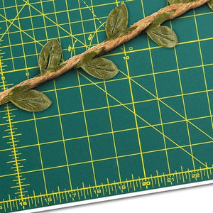 Leaf Garland - 4-Roll Wall Hanging Artificial Burlap Vine Plants Greenery for Wedding, Home, Jungle Garden Party Decorations, 5M or 16.4 Feet Each