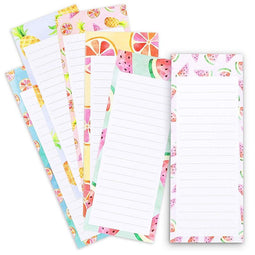 6-Pack Magnetic Notepad To Do List for Fridge, Reminder, 60 Sheet each, 3.5 x 9""