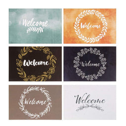 "48 All Occasion Blank Welcome Greeting Cards w/Envelopes, Floral Designs, 4""x6"""