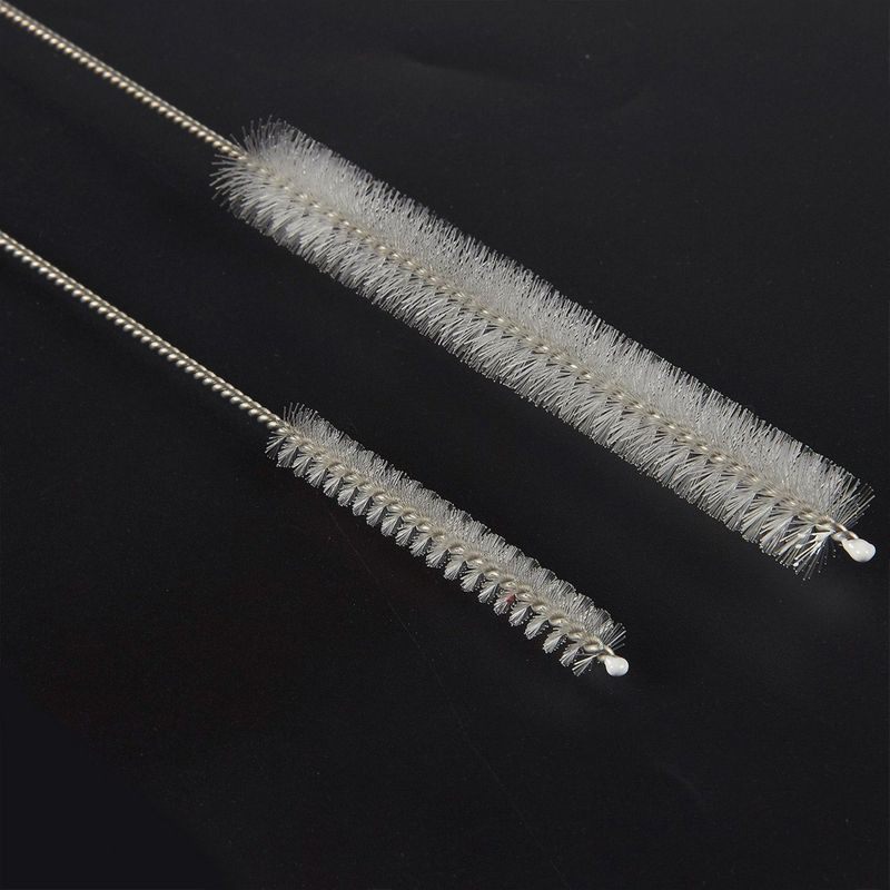 8-Pack Straw Cleaning Brush Stainless Steel Straw Cleaners for Tumbler Boba Tube