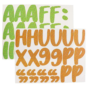 Juvale Bulletin Board Alphabet Letters and Numbers (146 Count)