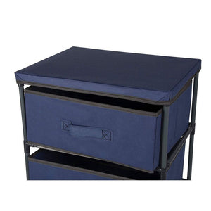 Juvale 4-Layered Storage Bin Cabinet Drawer for Clothing, Underwear, Documents